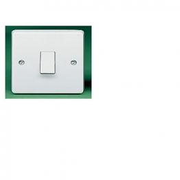 Crabtree 1 Gang Intermediate 10ax Plate Switch 4175