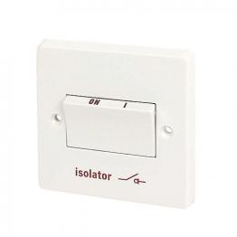 Crabtree 6a Three Pole Control Switch Isolator Symbol 4017
