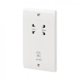 Mk Shaver Socket Dual Voltage K701whi