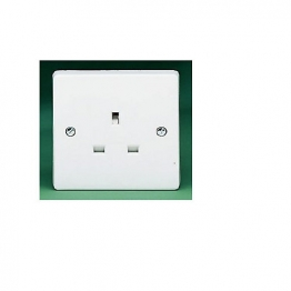Crabtree 1 Gang 13a Unswitched Socket 7255