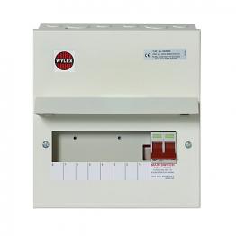 Wylex Nm Main Switch 100a 8 Way Nm806 Met
