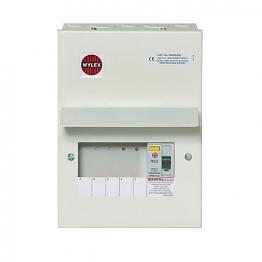 Wylex Nm Rcd Incomer 100a 30ma 5 Mcb Nmrs506 Met
