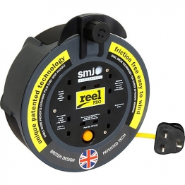 Reel Pro 10 Metre 13 Amp 4 Gang Thermal Cut Out
