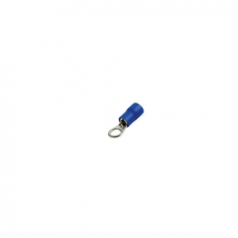 4 Trade Blue Ring 4mm Crimp Pack Of 100