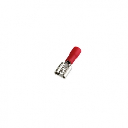 4 Trade Red 6.3mm Female Crimp Pack Of 100