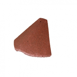 Redland Plain Bonnet Hip Antique Red Roofing Tile