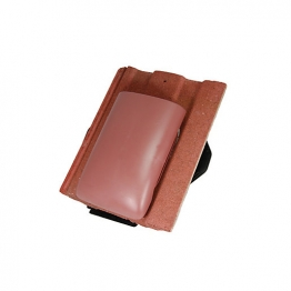 Redland Renown 8.8k Thruvent Antique Red Roofing Tile