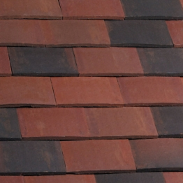 Eternit Acme Dark Brindle Double Camber Eave Roofing Tile