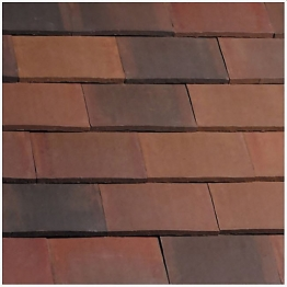 Marley Eternit Acme Smooth Brindle Double Camber Roofing Tile
