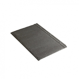 Redland Cambrian Left Hand Verge Slate & Half Sl Gry Pre Weathered Roofing Tile
