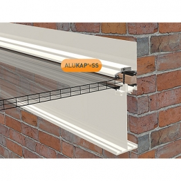 Alukap-ss High Span Wall Bar 3.0m White