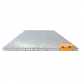 Axiome Clear 6mm Twinwall Sheet 2100mm X 4000mm
