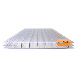 Axiome Clear 16mm Polycarbonate Sheet 1250mm X 2500mm