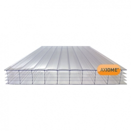 Axiome Clear 25mm Polycarbonate Sheet 1250mm X 3500mm