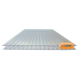 Axiome Clear 10mm Twinwall Sheet 690mm X 4000mm