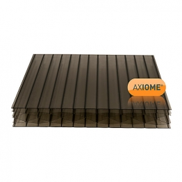 Axiome Bronze 25mm Polycarbonate Sheet 1050mm X 5000mm