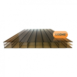 Axiome Bronze 16mm Polycarbonate Sheet 1050mm X 4500mm