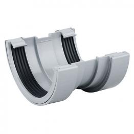 Osma Roundline 0t009 Gutter Union 112mm Grey