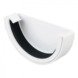 Osma Roundline 0t011 Stopend External 12mm White