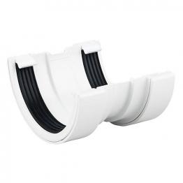 Osma Roundline 0t009 Gutter Union 112mm White