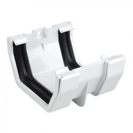 Osma 4t805w Squareline Gutter Joint Bracket White
