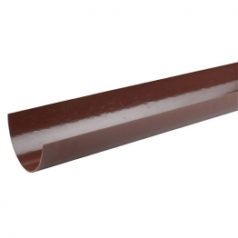Osma Deepline 9t974 Gutter 113mm Brown 4m