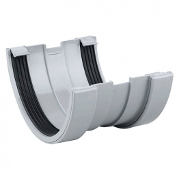 Osma Roofline 6t609 Gutter Union 150mm Grey