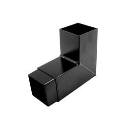 Alutec Flush Fit 72 X 72mm Bend 92.5 Degree Heritage Black
