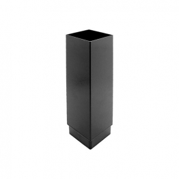 Alutec Flush Fit 72 X 72mm Downpipe 3m Heritage Black