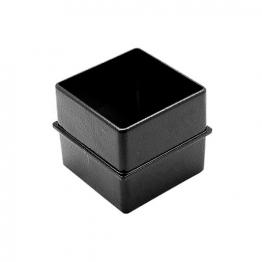 Alutec Flush Fit 72 X 72mm Internal Joint Spigot Heritage Black