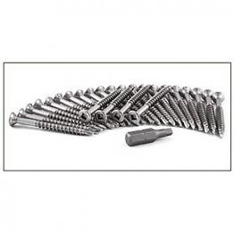 Cedral Screw Torx With Wings 4,8x38 Stst Op18 Slate Grey