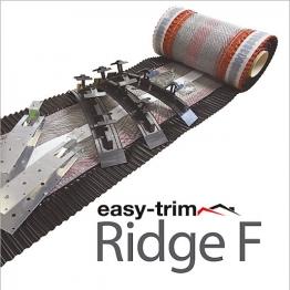 Easytrim Easyridge Plus 10m Dryfix Ridgekit Black