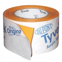 Tyvek Acrylic Tape 75mm X 25m
