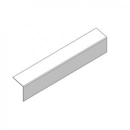Marley Eternit External Corner Bargeboard 200mm Wing By 2440mm Length Natural Grey