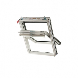 Keylite Centre Pivot Roof Window White 780mm X 1400mm Hi-therm