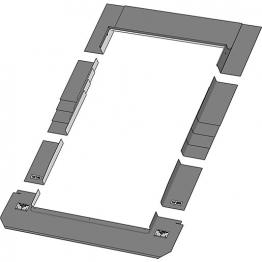 Keylite Slate Roof Flashing 550mm X 780mm Srf01