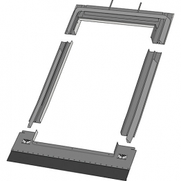 Keylite Tile Roof Flashing 550mm X 780mm Trf01