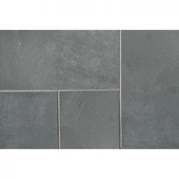 Marshalls Natural Slate Midnight Blue Paving Slab 300mm X 300mm X 20mm