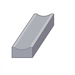 Concrete Dished Channel 75 X 230mm Cd