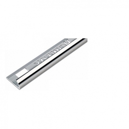 Homelux Tile Trim 2.44m X 9mm Silver Effect Hatrt9 Si