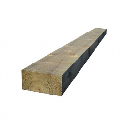 Incised Treated Timber Sleeper 125mm X 250mm X 2400mm