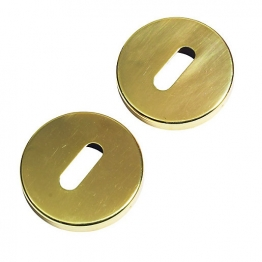 Urfic Standard Lock Plates Escutcheon Satin Nickel
