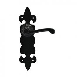 4trade Black Antique Lever Latch
