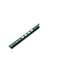 Homelux Tile Trim 2.5m X 9mm Black Httdbk25