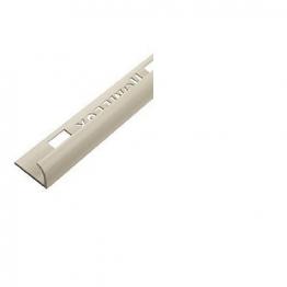 Homelux Tile Trim 2.5m X 9mm Soft Cream Httdscr25