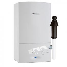 Worcester Greenstar 30kw I Combi Boiler & Vertical Flue Pack Erp