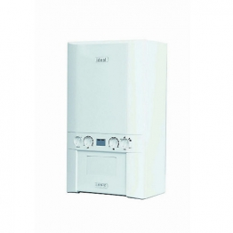 Ideal Logic 30kw Combi Boiler & Standard Horizontal Flue Pack Erp