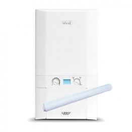 Ideal Logic 15kw System Boiler & Standard Horizontal Flue Pack Erp