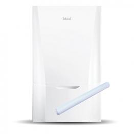 Ideal Vogue 26kw System Boiler & Standard Horizontal Flue Pack Erp