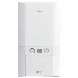 Ideal Logic Plus 24kw System Boiler & Standard Horizontal Flue Pack Erp